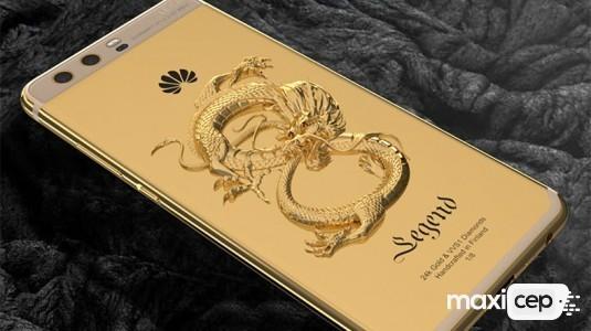 Huawei'yi P10'u 24 ayar altın ile kapladılar