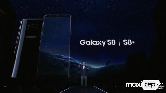 Samsung, Galaxy S8 ve Galaxy S8+'ı Online Ön Siparişe Sundu