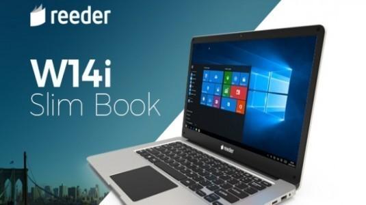 Reeder Slim Book W14i Resmi Olarak Tanıtıldı