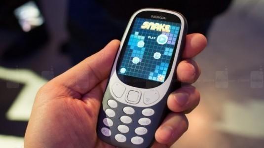 Nokia 3310 Ön Siparişleri İngiltere'de İnanılmaz Derecede Güçlü Gidiyor
