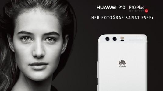 Huawei P10 Türkiye'de Raflardaki Yerini Aldı