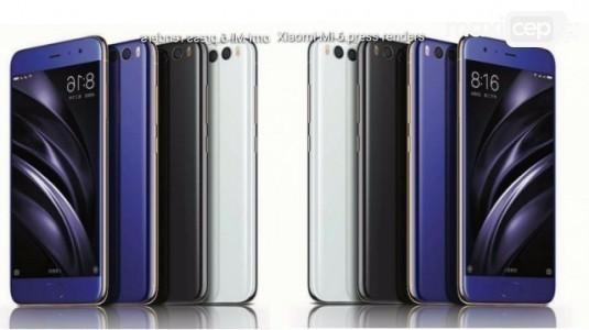 Xiaomi Mi 6'nın Basın Görselleri Duyurudan Saatler Önce Sızdırıldı