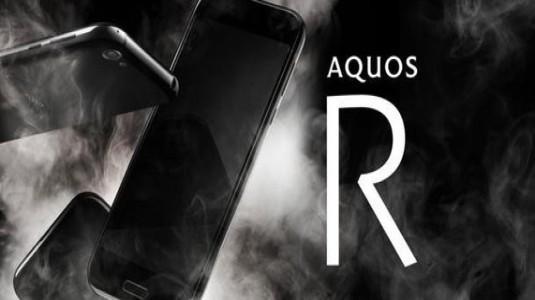 Sharp Aquos R, Snapdragon 835 ve 22.6MP Kamera ile Resmi Olarak Duyuruldu