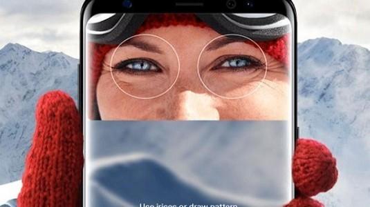 Samsung Galaxy S8'in İris Tarayıcısı Mobil Ödeme İçin Kullanılabilir Olacak