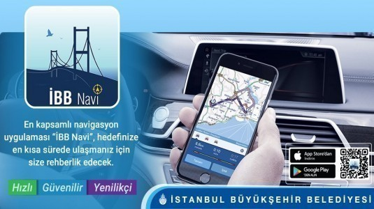 İBB'den yeni navigasyon uygulaması: Navi