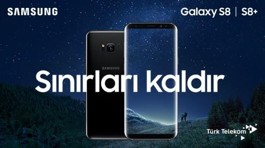 Galaxy S8 ve Galaxy S8+, 21 Nisan'da Türk Telekom Mağazalarında Satışa Sunulacak
