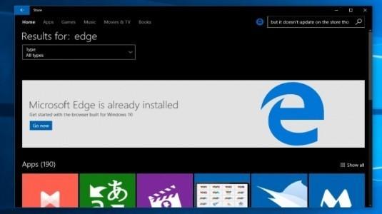 Microsoft, Edge Tarayıcının En Büyük Sorununu Redstone 3 Güncellemesi ile Çözecek