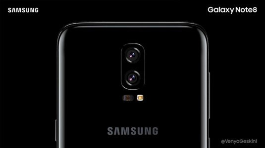 Son İddialara Göre Samsung Galaxy Note 8'in Ekranı 6.3 İnç Büyüklüğünde Olacak