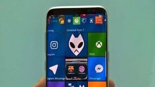 Windows 10 Mobile ile Çalıştığı İddia Edilen Galaxy S8 Ortaya Çıktı