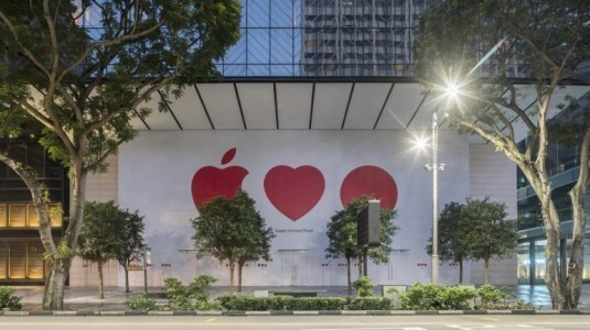 Apple'dan Singapur'un ilk güneş enerjisiyle çalışan mağazasını açıyor