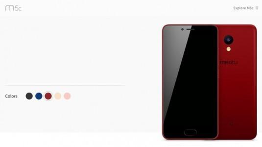 Meizu M5c'nin özellikleri ve tasarımı sızdırıldı