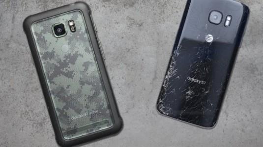 Galaxy S8 Active'de, kıvrımlı kenarlara yer yok