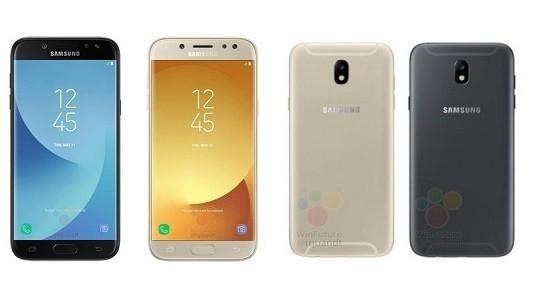 Yeni Galaxy J7 (2017) Modeli Farklı Tasarım ve Renkleri İle Görüntülendi