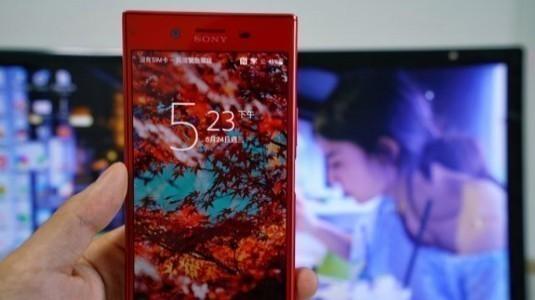 Sony Xperia XZ Premium'un Kırmızı Rengi ile Tanışın