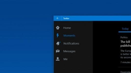 Windows 10 Twitter Uygulaması Yeni Arayüz Değişiklikleri ile Güncellendi