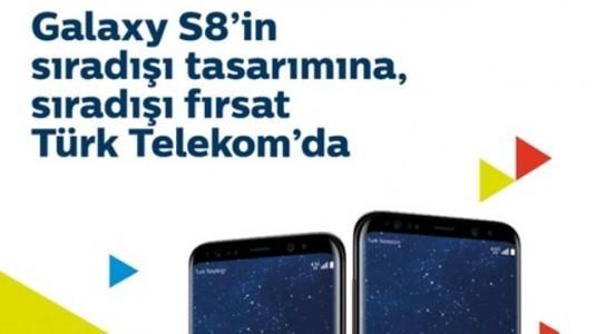 Galaxy S8 ve S8+ Türk Telekom'da 1.000 TL İndirim Fırsatı ile Satışa Sunuldu