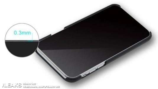 İphone 8'e Ait Olduğu Edilen Kılıf Görüntüsü, Dikey Kamerayı ve Ana Ekran Tuşu Olmadığını Gösteriyor