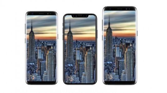 iPhone 8 ile Galaxy S8 yan yana görüntülendi