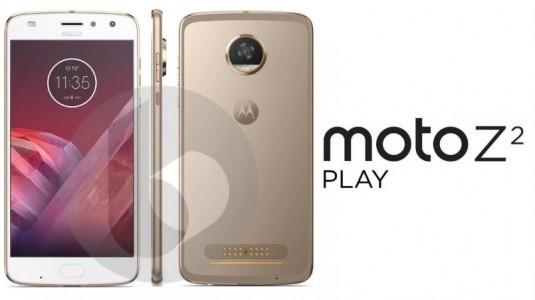 İddialara Göre Moto Z2 Play, Daha İnce Tasarım ve Moto Z Play'e Göre Daha Küçük Bir Pille Gelecek