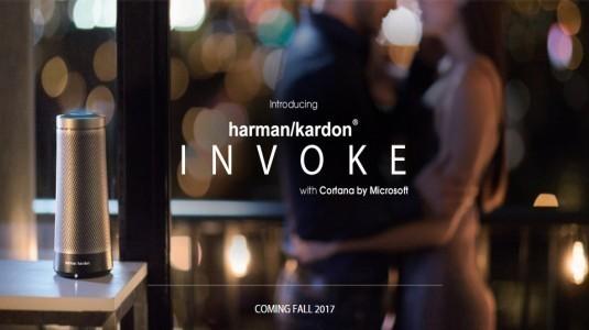 Cortana Destekli Harman Kardon Hoparlör Resmi Olarak Tanıtıldı