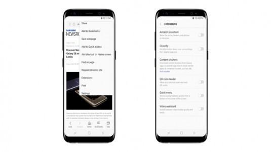 Samsung Internet Browser, ilk güncellemesini aldı