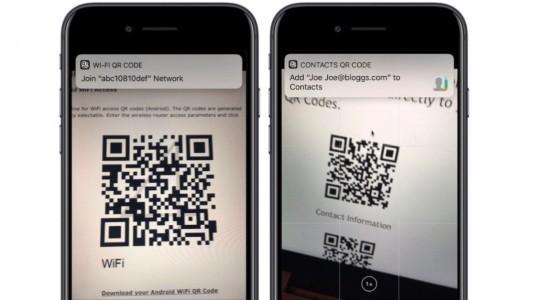 iOS 11 tarafından desteklenecek 9 önemli QR kodu
