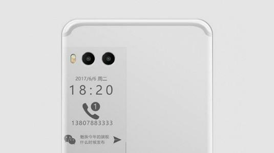 Meizu Pro 7'nin Canlı Görseli İkincil Ekranı Gözler Önüne Serdi