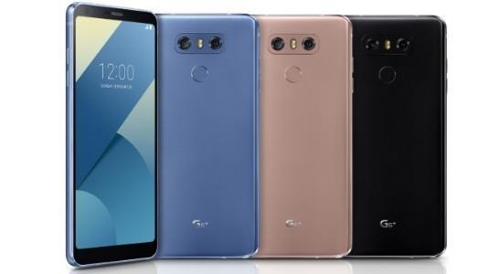 LG, Daha Fazla Bellek ve Yeni Renklerle G6 +'ı Piyasaya Sürdü