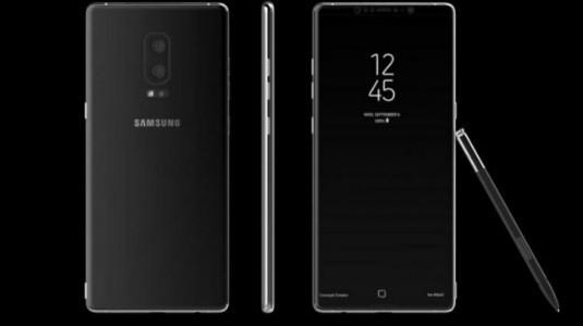 Samsung Galaxy Note 8, Infinity Ekran ve Android 7.1.1 Yüklü Olarak Gelecek