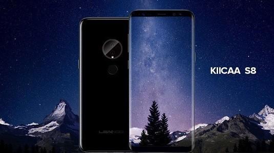 Ortaya Çıkan Leagoo KIICAA S8 Telefonu Samsung Galaxy S8 Modeline Oldukça Benziyor