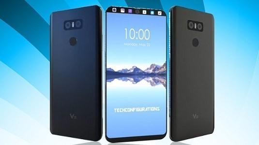 LG V30 Render Görselleri Çerçevesiz Ekran Tasarımını Gözler Önüne Seriyor