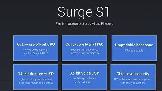 Xiaomi Yeni Telefonunda Kendi İşlemcisi Olan Surge S2 Modelini Kullanacak