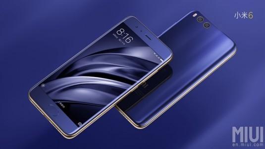 Coral Blue Renkli Xiaomi Mi 6, Bugün Satışa Çıkıyor
