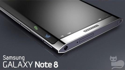 Samsung Galaxy Note 8'in Son Renderında Gömülü Parmak İzi Tarayıcı ve Dual Kamera Ortaya Çıktı