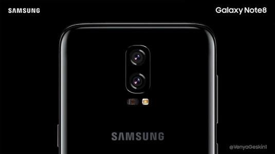 Samsung Galaxy Note 8'in Ekrana Entegre Parmak İzi Tarayıcısı Olmayacak