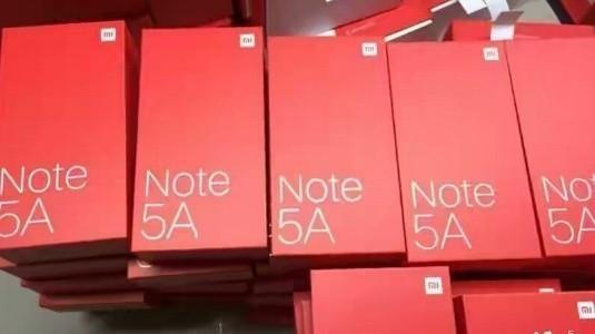 Xiaomi Redmi Note 5A Perakende Kutusu Sızdırıldı