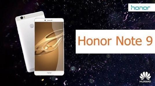 Huawei Honor Note 9 Modeli Çerçevesiz Ekran Tasarımı İle Beraber Geliyor