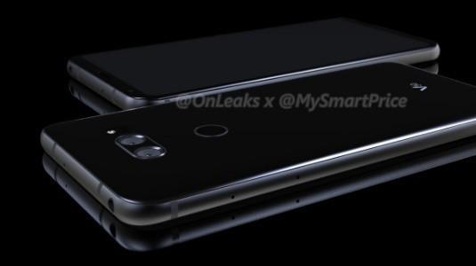 CAD Tasarımlarına Dayalı LG V30 Render Görselleri İnternete Sızdırıldı
