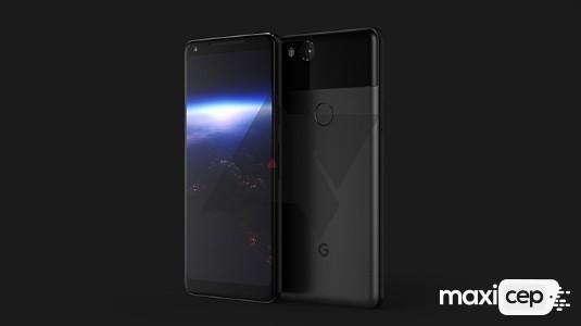 Google Pixel 2 XL Tasarımı Bir Render ile Ortaya Çıktı