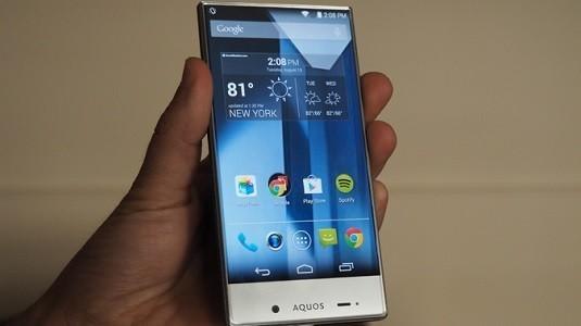 Yeni Bir Sızıntı Çerçevesiz Ekran Tasarımına Sahip Sharp Telefonunu Gözler Önüne Seriyor