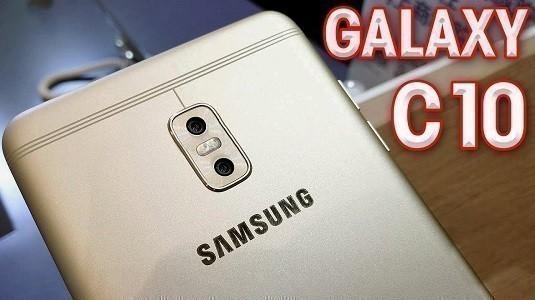 Samsung Galaxy C10 Çift Kamerası İle Ortaya Çıktı