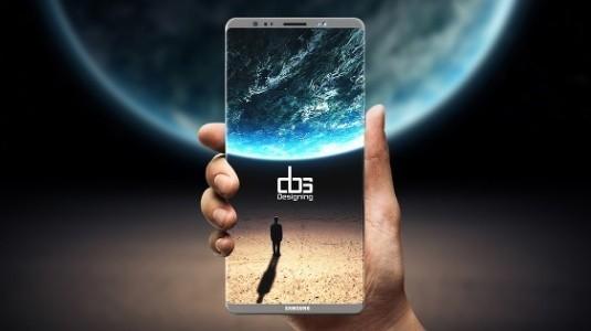 Galaxy S8+ ve Note 8 Ekranı Yanyana Görüntülendi