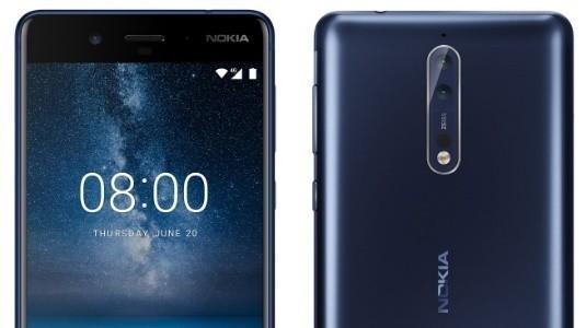 Nokia 8'in Gümüş Rengi de Ortaya Çıktı