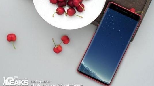 Samsung'un Nihai Galaxy Note 8 Tasarımı Önceki Gördüklerimizden Farklı Olacak