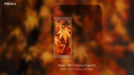 Meizu Pro 7 için Resmi Görsel Yayınlandı