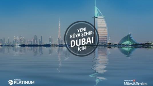 Turkcell, 10 farklı Platinum müşterisini Dubai'ye uçuracak