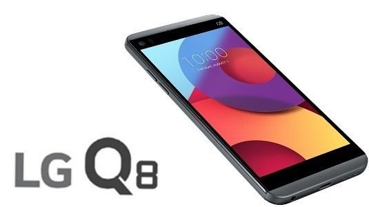 LG Q8, 5.2 inç Ekranlı LG V20 Versiyonu Olarak Duyuruldu