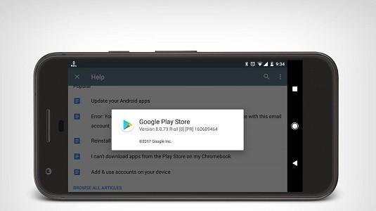 Google Play Store 8.0.73 Sürümü Bugün İtibariyle Yayınlandı