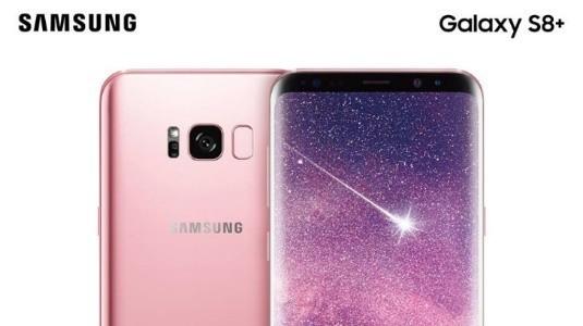 Gül Pembesi Galaxy S8 Kuzey Amerika'da Satışa Sunuldu