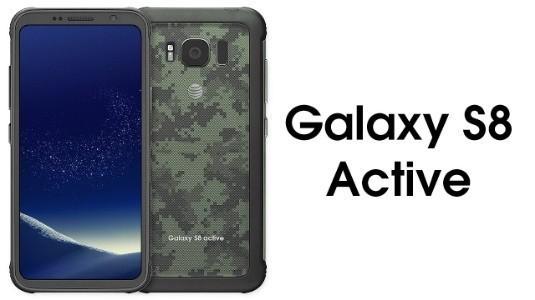 Samsung Galaxy S8 Active'in Yüksek Çözünürlüklü Görseli Sızdırıldı